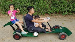 Download How to Make F1 Electric Car | DIY Go kart at Home Video