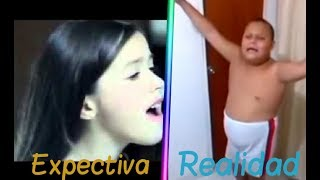Download Expectativa vs Realidad/ Como crees que cantas/ Da Vines Video