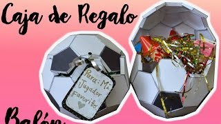 Download BALÓN DE FÚTBOL / CAJA DE REGALO Video