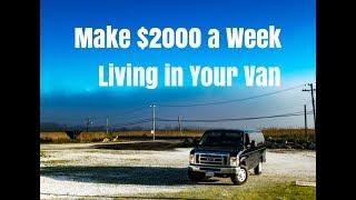 Download Make $2000 a Week Living in a Van. Vandwelling Urban Stealth Camping. Make Money on the Road Video
