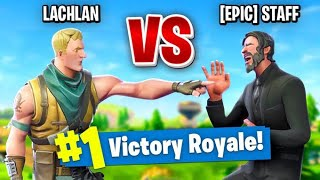 Download So I Challenged an Epic Employee to a 1v1 In Fortnite Battle Royale... Video