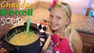 Download Kid Size Cooking: Broccoli Cheddar Soup Video