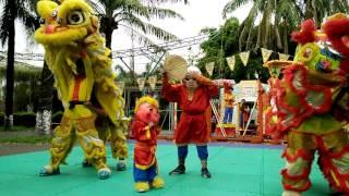 Download Ông địa nhí - Tề Thiên Nhí - Lân sư rồng Phù Đổng 2016 Video