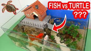Download What is going on with Turtles and Fish in one Aquarium build with Mini Bricks Video