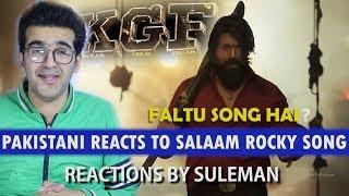 Download Pakistani Reacts To Salaam Rocky Bhai Song | KGF | YASH | SRINIDHI Video
