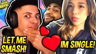 Download MYTH REACTS TO POKIMANE SAYING SHE'S SINGLE & DAEQUAN BEING A WINGMAN! Fortnite SAVAGE Moments Video