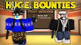 Download HUNTING HUGE BOUNTIES! (ROBLOX Jailbreak) Video