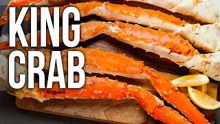 Download KING CRAB recipe Video