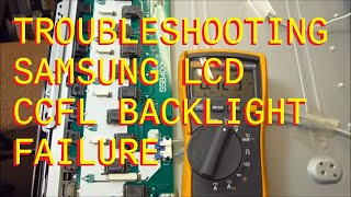 Download Troubleshooting LCD Backlight Failure Samsung LNT-4066 Video