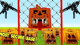 Download MOST SECURE PUMPKIN BASE EVER!   Little Kelly Plays Video