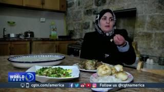 Download Palestinian women learn business model Video