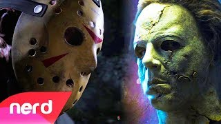 Download Friday The 13th vs Dead By Daylight | Rap Battle | #NerdOut! (Jason Voorhees vs Michael Myers) Video