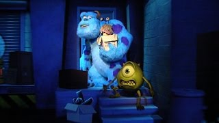 Download [4k] Monsters inc. Mike and Sulley to The Rescue ride POV (Amazing Low Light) - California Adventure Video