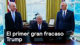 Download El primer gran fracaso Trump - Trump - Denise Maerker 10 en punto - Video
