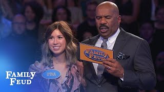 Download 199 points! With ONE ANSWER left! | Family Feud Video