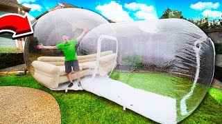 Download LIVING IN THE WORLDS BIGGEST BUBBLE HOUSE! Video