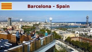 Download Barcelona city - a sightseeing tour Video