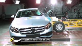 Download Euro NCAP Crash Test of Mercedes-Benz E-Class Video