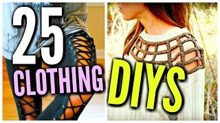 Download DIY Clothes Life Hacks! 25 DIY Ideas For Clothing & Fashion Video