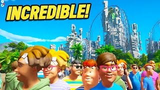 Download Planet Coaster Creations : THE MOST INCREDIBLE CREATION EVER! Video