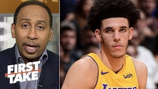 Download Stephen A. Smith: Lonzo Ball is 'starting to scare me' | First Take | ESPN Video