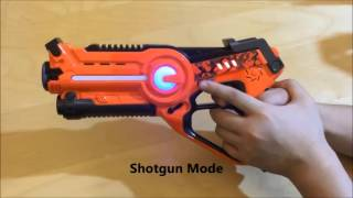 Download CALL OF LIFE LASER TAG GUN WITH ROBOTIC ALIEN BUG Video