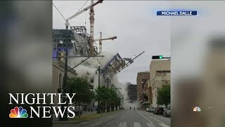Download New Orleans Hard Rock Hotel Construction Site Partially Collapses, Killing At Least 1 | Nightly News Video