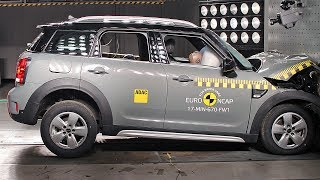 Download MINI Countryman (2017) Crash Tests [YOUCAR] Video