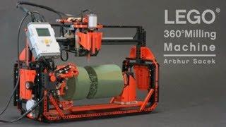Download LEGO 360° Milling Machine Video