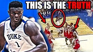 Download NOBODY Is Noticing THIS About Zion Williamson And His NBA Potential (Ft. A Lot Of Dunks) Video