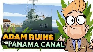 Download How the USA Stole the Panama Canal | Adam Ruins Everything Video