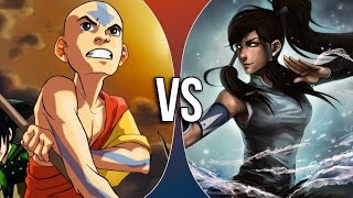 Download VS | Aang vs Korra Video