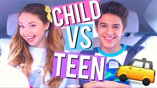 Download Child VS Teen: Car Rides w/ Brent Rivera! | Meredith Foster Video