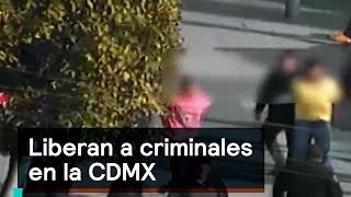 Download Liberan a criminales en la CDMX - Inseguridad - Denise Maerker 10 en punto Video