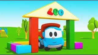 Download Compilation avec Léo le camion benne curieux - construction d'une maison Video