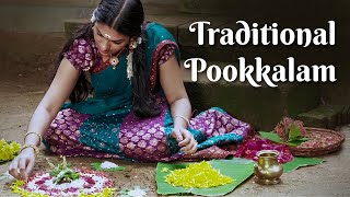 Download Onappookkalam | The Traditional Way of Making Onam Pookkalam | How to Make Pookalam Video