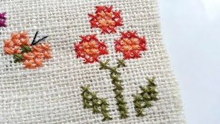 Download How To Create Simple Cross Stitched Flowers - DIY Crafts Tutorial - Guidecentral Video