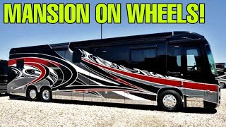 Download Super Luxury on Wheels! The Entegra Cornerstone Class A motorhome! Video