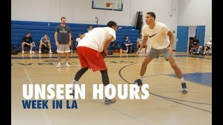 Download Jayson Tatum, Jordan Clarkson & Kelly Oubre Play 1 on 1 | Unseen Hours With Drew Hanlen Ep 4 Video