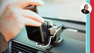 Download The best car smartphone mount 2018   Review of iOttie easy one touch cell phone holder Video