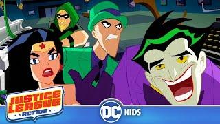 Download Justice League Action | Solving Riddles | DC Kids Video