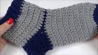 Download Meia de Crochê Adulto- Com Tabela de Tamanhos Video