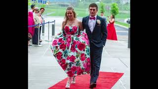 Download Middletown High School students arrive for the 2018 prom Video