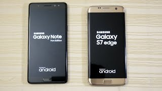 Download Galaxy Note FE vs S7 Edge - Speed Test! (4K) Video