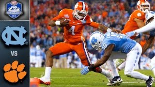 Download Clemson vs. North Carolina ACC Football Championship Game Highlights (2015) Video