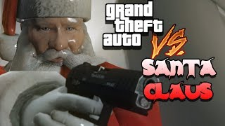 Download GTA VS. Santa Claus   Christmas Rockstar Editor Cinematic Machinima Video