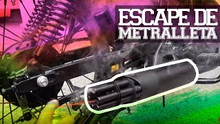 Download ESCAPE DE AMETRALLADORA A MI MOTO!! | JUCA Video