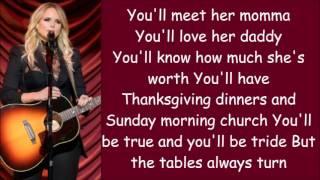 Download Miranda Lambert ~ To Learn Her (Lyrics) Video