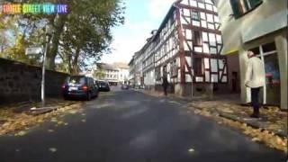 Download Google Street View Lich Hessen Germany Deutschland Video