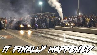 Download MAJOR GRUDGE RACE THAT FINALLY HAPPENED! COUPE PERFORMANCE HIROSHIMA VS NRC BOB TURTLE! BIG BLOCKS! Video